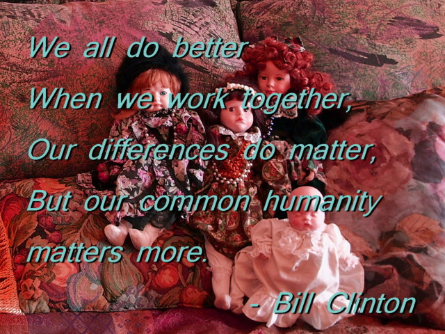 quote Bill Clinton