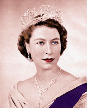 1952 Official Portrait of the Queen