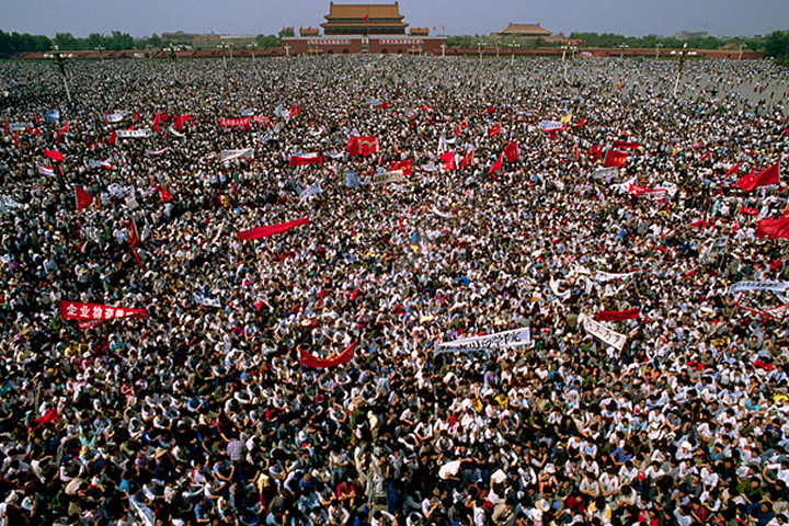 Pic 1-Tiananmen Square 1989 May-June