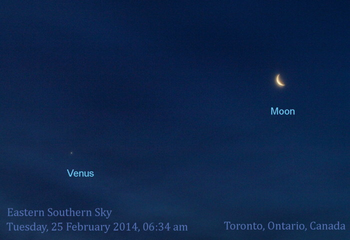 Moon & Venus feb 25