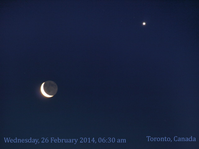 Moon & Venus feb 26